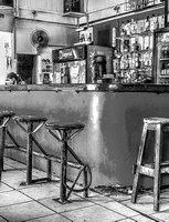 Costa Rica Bar - B&W